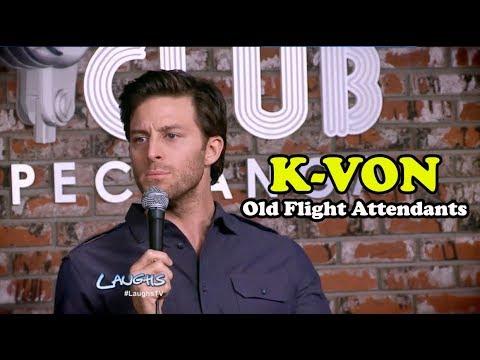 Old Flight Attendants | K-Von | Stand-Up Comedy