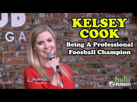 Being A Professional Foosball Champion | Kelsey Cook | Stand-Up Comedy