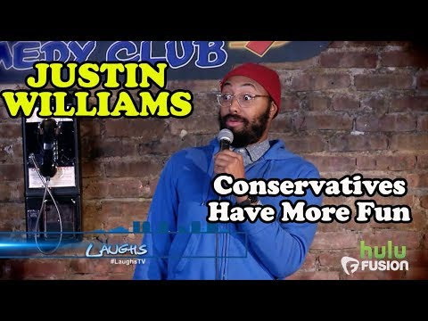 Conservatives Have More Fun | Justin Williams | Stand-Up Comedy