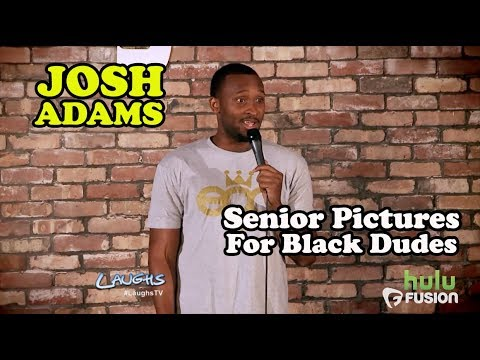 Senior Pictures For Black Dudes | Josh Adams | Stand-Up Comedy