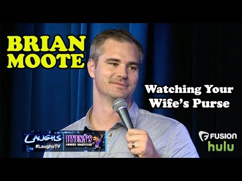 Watching Your Wife's Purse | Brian Moote | Stand-Up Comedy