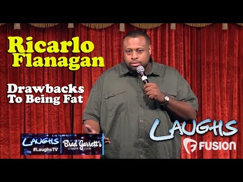 Drawbacks to Being Fat | Ricarlo Flanagan | Stand-up Comedy