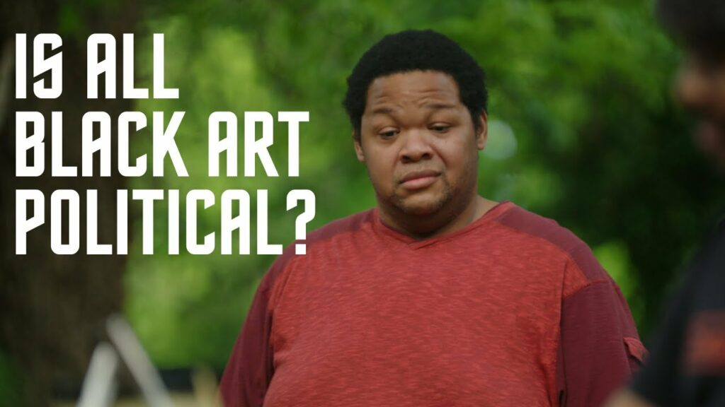 Is ALL Black Art Political?